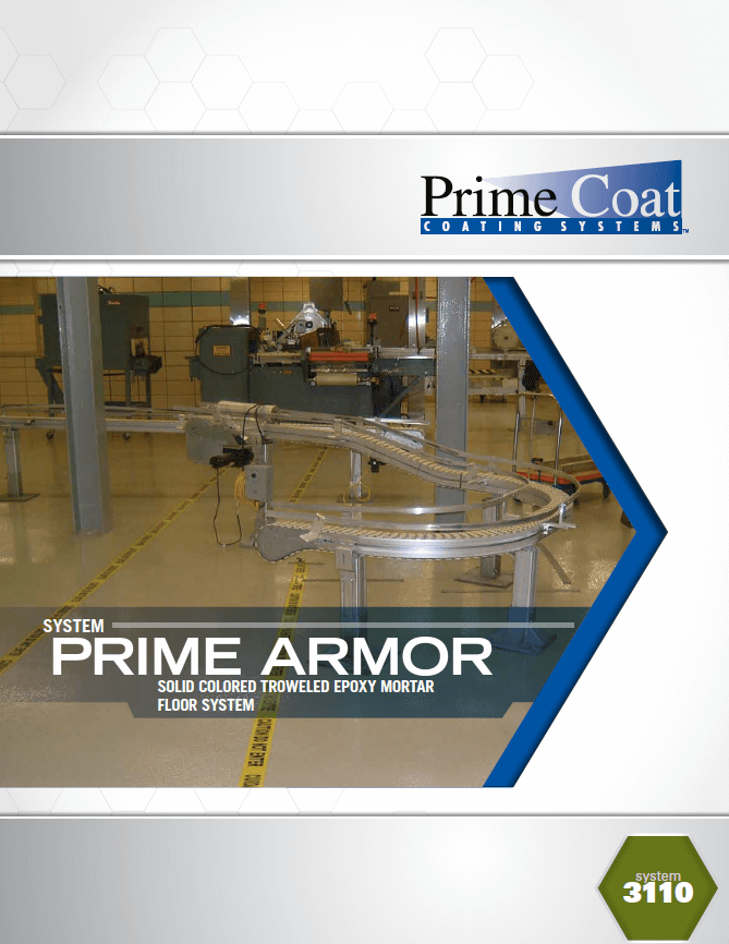 Prime Armor 3110